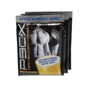 P90X workout results and recovery formula packets