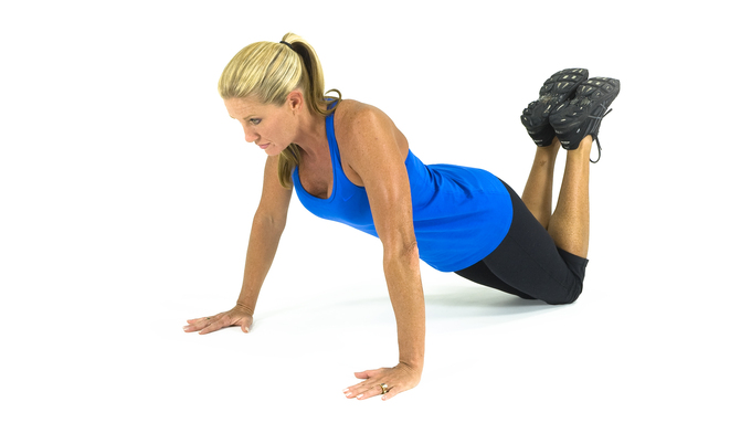 P90 workout modified press up