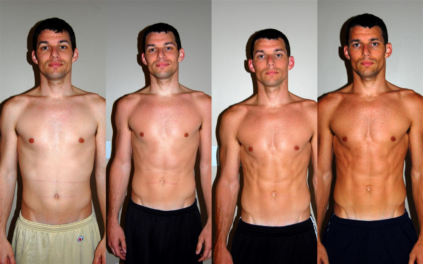 P90X workout review skinny guy transformation