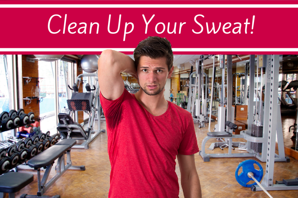 If you're in a gym, wipe your equipment down after use! Please!