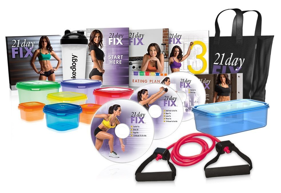 which home workout 21 day fix contents