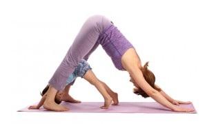 mother child yoga