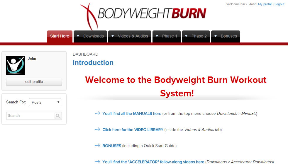 bodyweight burn review portal